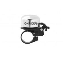 Дзвоник ONRIDE Tone хомут 22.2 мм сріблястий