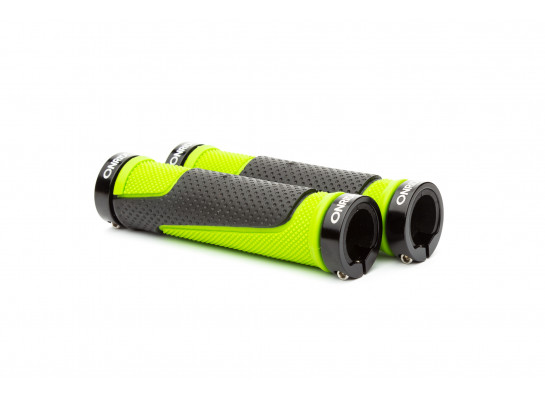 Ручки руля ONRIDE DualGrip чорний/зелений